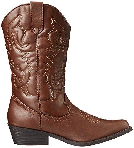 Madden Girl Sanguine Wide Width Western Boot brown