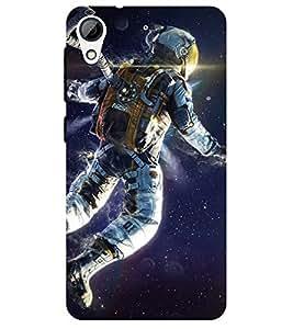 Chiraiyaa Designer Printed Premium Back Cover Case for HTC Desire 626 (astronaut nasa flying) (Multicolor)