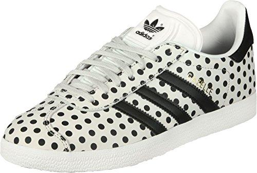 adidas Gazelle W, Scarpe da Corsa Donna bianco nero