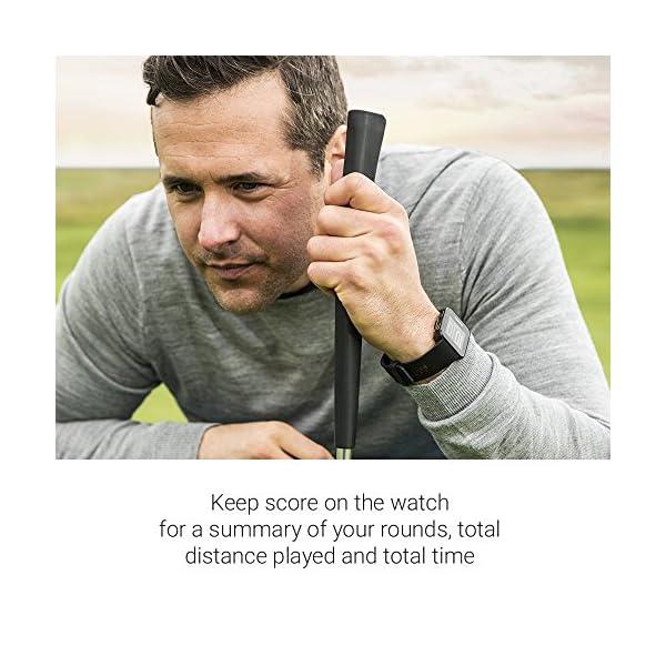 Garmin Approach S10 – Reloj de golf (campos mundiales preinstalados,
