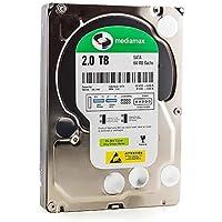 Mediamax 2TB interne Festplatte 3,5 Zoll HDD SATA III, 6.0 Gb/s Cache 64MB, RPM: 7200 (U/min), 2000GB, WL2000GSA6472G…