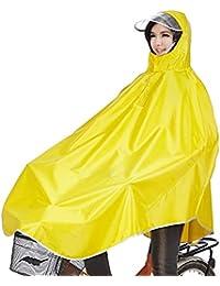 Tourwin Regenponcho für Camping Fahrrad Regenmantel Regenschutz mit Kapuze