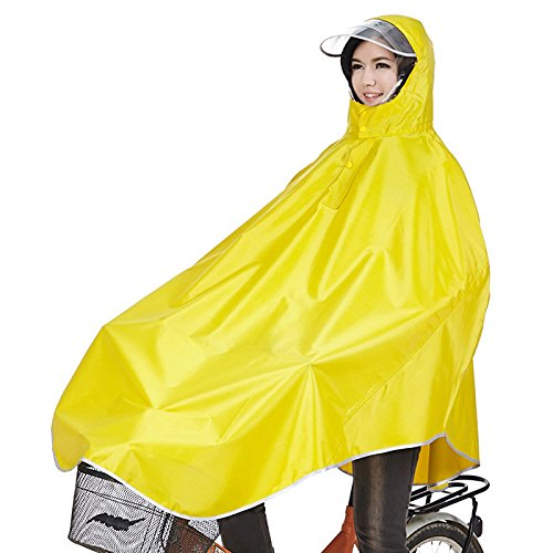 Tourwin Windproof Hooded Cycling Bike Bicycle Raincoat Poncho 1 Pack