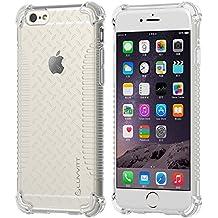 iPhone 6caso, LUVVITT Borrar Grip iPhone Air móvil/11,9cm de la pantalla | suave Slim transparente TPU Funda/Bumper Cover (No compatible con iPhone 55S 5C 44S o iPhone 6Plus 14cm de la pantalla), transparente