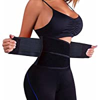 cdb94b240a3d4 VITOMOR Women s Slimming Waist Shaper Body Support Waist Trainer Trimmer Cincher  Belt with Dual Adjustable Belly