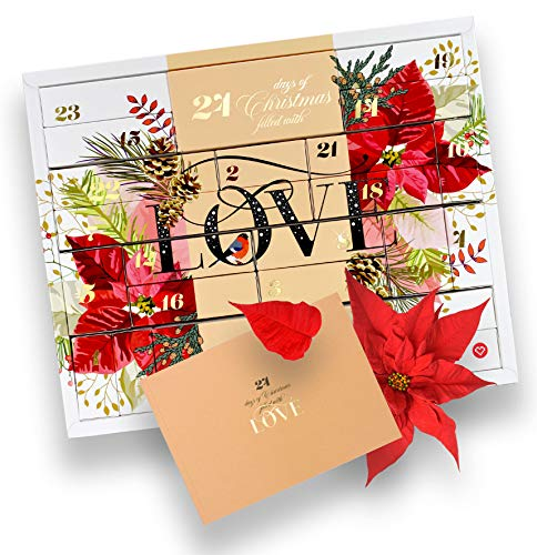 Amorita Erotischer Adventskalender Premium 2019-28 verführerische Geschenke für Paare & Singles - Weihnachtskalender mit Sexspielzeug - mit hochwertigen Überraschungen für Sie & Ihn