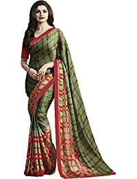 Saree ( Designer Collection Of New Georgette Saree By Charrlys Designerr For Festival , Casual , Wedding Collection