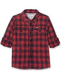 Noppies Jungen Langarmshirt B Shirt Wvn LS Gela Check
