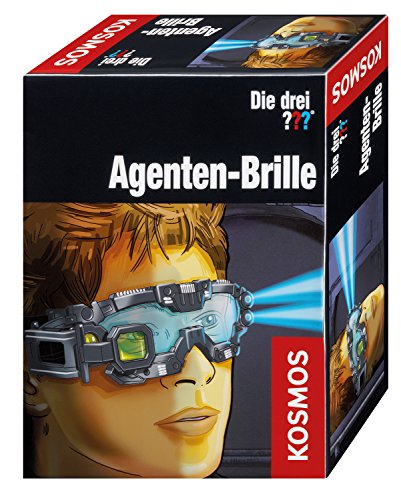 Kosmos Die drei ??? 631352 - Agenten-Brille (Für Brille Kinder)