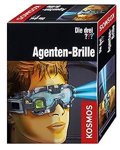 KOSMOS 63135 Espionaje - Juegos de rol (Espionaje, 8 año(s), Niño, Negro, Azul, Amarillo, AAA, 160 mm)