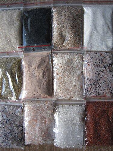 Salz Set 16 tlg, Hawaii Salz , Kala Namak , Blausalz ,Sonnensalz, Halit Salz usw