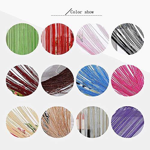 Snner Dekorative Tür Schnur-Vorhang Wall Panel Fringe Fenster Raumteiler Blinde Divider Tassel-Bildschirm -