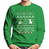 Its Dangerous To Go Alone At Christmas Legend Of Zelda Men's Sweatshirt