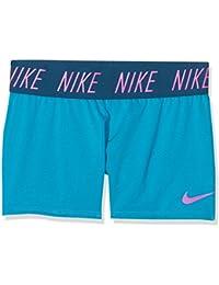 Nike Girls' Dry Training Shorts Pantalones cortos, Niñas, Turquesa/Magenta, M