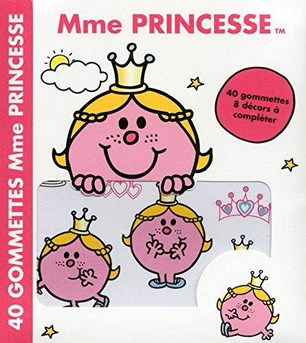 Mme Princesse 40 gommettes