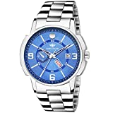 #2: Eddy Hager Blue Day and Date Men's Watch EH-226-BL