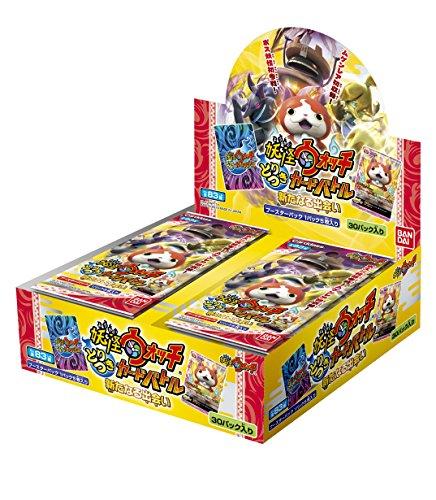 Yo-Kai Watch trims card Battle A New encounter booster pack [YWB01] (BOX)