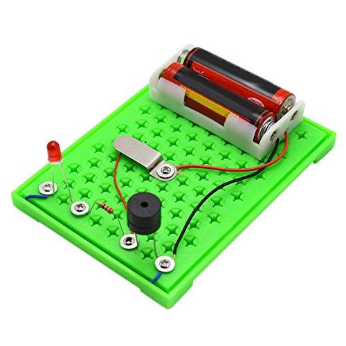 YouN Kinder Electric Radio Transceiver DIY Montage Wissenschaft Experiment Spielzeug Electronic Lab-kit