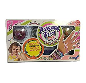 Fun Toys 10581 - Jewellry Fun with Lots of Love and Accessories, Simple to Make, Fun to Wear
