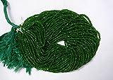 10hebras verde turmalina Rondelle cuentas, Turmalina Gem piedra, 3mm facetas de perlas, Rondelle, Gemstone para joyería, 13pulgadas