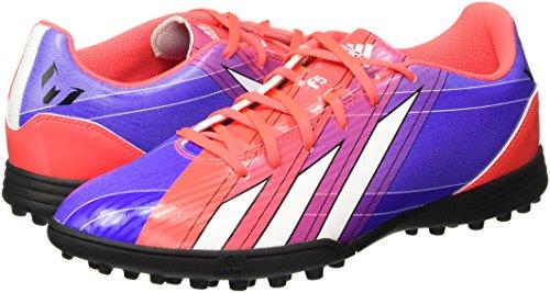 Adidas F5 TRX TF Messi Mens Soccer NEW G95011 solar zest/purple/white