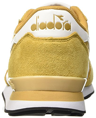 Diadora Herren Camaro Leather Pumps Beige (Beige Farro/Bianco)