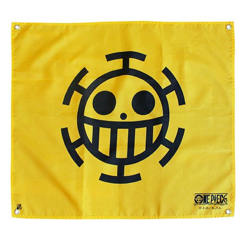 AbyStyle - Drapeau One Piece - Trafalgar Law (50x60) - 3700789201755