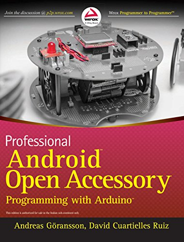 Professional Android Open Accessory Programming with Arduino (WROX)