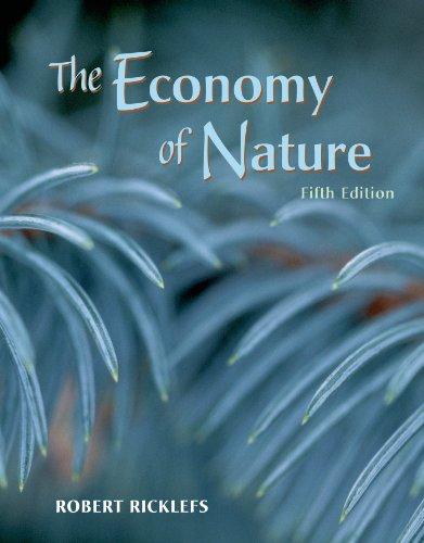 The Economy of Nature