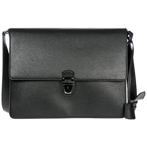 Dolce&Gabbana borsa a tracolla uomo nero