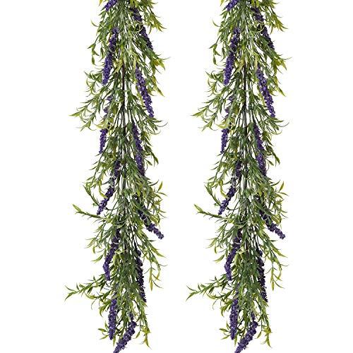 Woooow Künstliche Eukalyptus-Girlande Lavender Garland