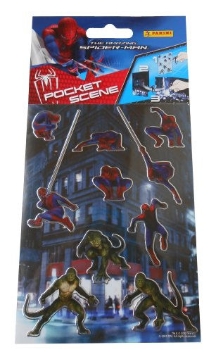 Panini - Pocket Scène Spider-Man + 10 Stickers