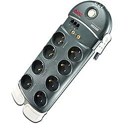 APC Surge Arrest Performance - PL8VT3-FR - 8 Prises - 1 Prise Compatible CPL - Protection Coaxiale et Téléphonique