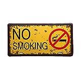 """Ndier Metall-Schild """"No Smoking"""", für Bar, zu Hause, Restaurant"""
