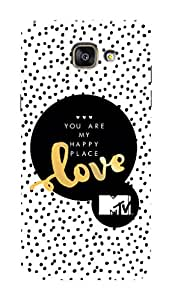 MTV Gone Case Mobile Cover for Samsung Galaxy A5 2016