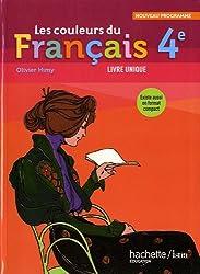 Les couleurs du français 4e : Livre de l'élève grand format