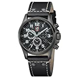 Luminox-Atacama-Field-Chronograph-Alarm-Mens-Quartz-watch-with-Silver-dial-featuring-LLT-Luminox-light-Technology-45-millimeters-Stainless-Steel-case-and-Black-Leather-Strap-XL1941