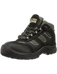 Safety Jogger X2020P, Unisex - Erwachsene Arbeits & Sicherheitsschuhe S3, braun, (blk/brn/navy 10A), EU 42