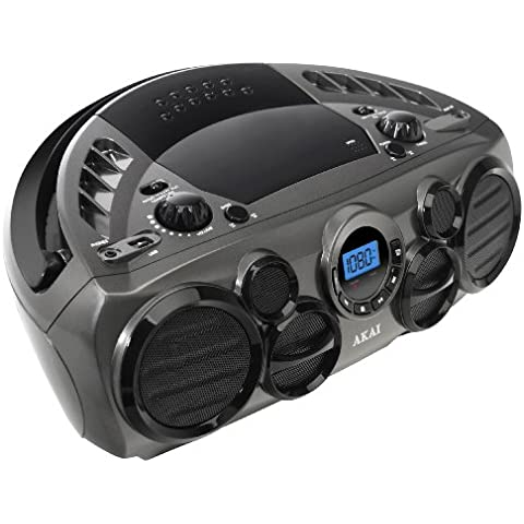 Akai APRC90AT - Reproductor de CD y radio portátil (USB, Aux-In)