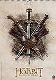 Der Hobbit: Die Schlacht der Fünf Heere (Wandkalender 2015 DIN A2 hoch): Ein Muss für alle Mittelerde-Fans! (Monatskalender, 14 Seiten)