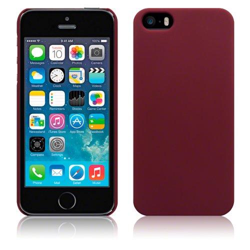 Terrapin Étui caoutchouté pour iPhone 5S/iPhone 5 rouge