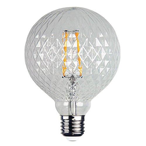 PureLume™ LED Edison Crystal Superglobe Retro Lampe (3.5W, E27, 240V) Vintage Schmuck Glühlampe (Vintage Crystal Schmuck)