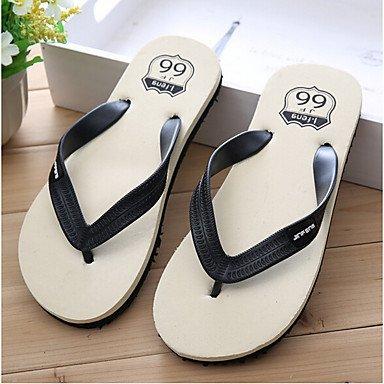 Slippers & amp da uomo;Heel Estate personalizzati Materiali all'aperto piatti Altri Nero Verde Rosso Oth sandali US11 / EU44 / UK10 / CN46