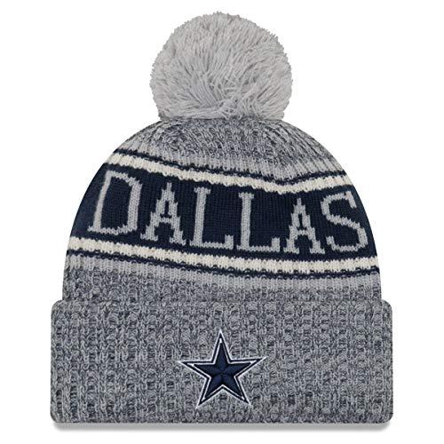 New Era NFL Dallas Cowboys 2018 Sideline Reverse Sport Knit