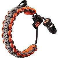 gerber bear grylls survival paracord bracelet - grey