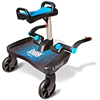 Lascal T-LAS-02540 BuggyBoard Maxi+ mit Saddle - Buggy Board Plus, blau