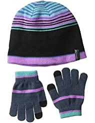 Columbia Youth Hat and G Guantes, Niñas, Multicolor (Crown Jewel), Talla Única