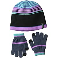 Columbia Youth Hat and G Guantes, niñas, (Crown Jewel), Talla Única