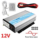 Giandel 5000W Heavy Duty DC12V Power Inverter with Remote Control and 4xAC 110-120V