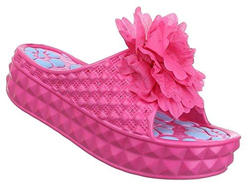 Sommerschuhe pink
